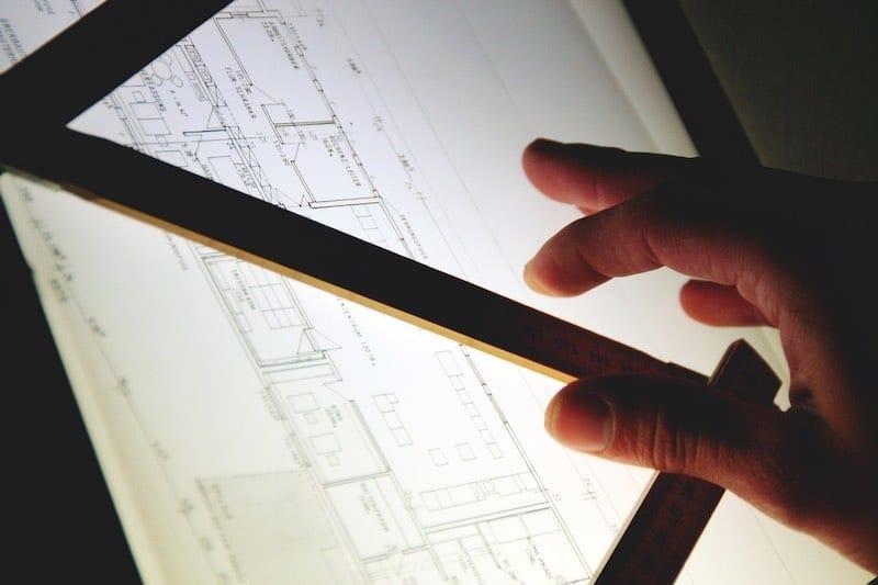 Plan d'architecte rennais