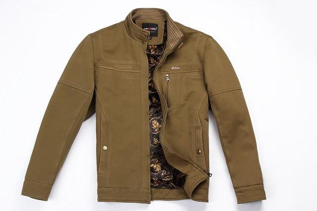 La veste avec logo